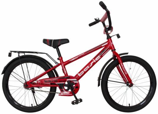 """Велосипед Navigator Basic 20"""" красный ВН20183 велосипед navigator basic бело зеленый"""