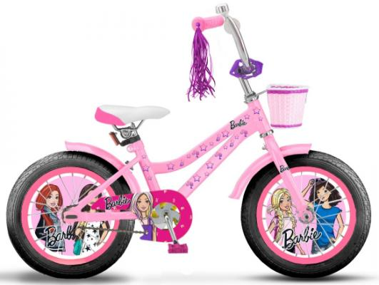 Купить Велосипед Navigator Barbie 20 розовый ВН20190, Двухколесные велосипеды для детей