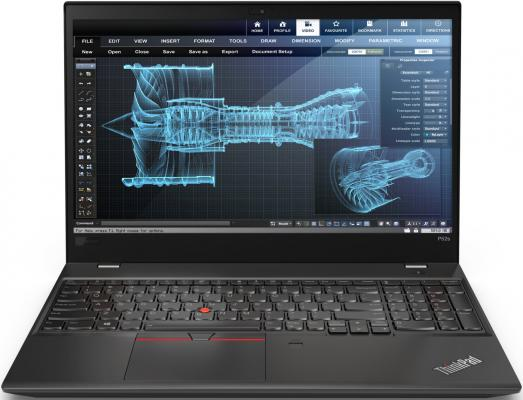 Ноутбук Lenovo ThinkPad P52s Core i7 8550U/16Gb/SSD1Tb/nVidia Quadro P500 2Gb/15.6/IPS/UHD (3840x2160)/Windows 10 Professional/black/WiFi/BT/Cam ноутбук lenovo thinkpad p1 core i7 8750h 16gb 512gb ssd nv quadro p1000 4gb 15 6 uhd touch win10pro black