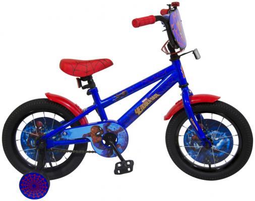 """Велосипед MARVEL Человек-Паук 14"""", сине-красный ВН14185"""