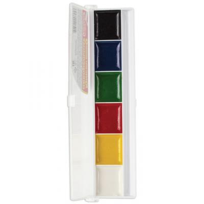 Краски акварельные ПИФАГОР Краски акварельные 6 цветов