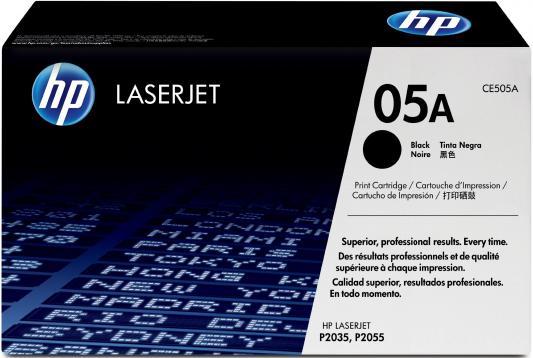 Тонер-картридж HP CE505A для LJ P2035/2055 (2300 стр) картридж colouring cg ce505a 719 для hp lj p2030 p2035 p2050 p2055 p2055d p2055dn canon lbp 6300dn 6650dn mf5840dn 5880dn mf5940 2300стр