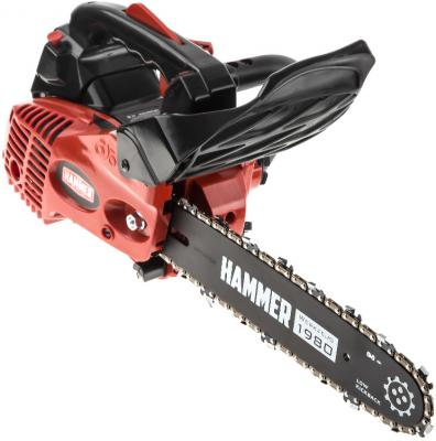 Бензопила Hammer BPL2512C 1кВт/1,4лс 25см3 шина 12 цепь 3/8-1,3мм-45 3,8кг бензопила efco 141s 41 1 5квт 2 5лс 39см3 шина 16 цепь 3 8 1 3мм 4 2кг