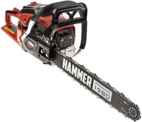 Бензопила Hammer BPL4518C 2кВт/2,7лс 45см3 шина 18 цепь 0,325-1,5мм-72 6кг бензопила efco 141s 41 1 5квт 2 5лс 39см3 шина 16 цепь 3 8 1 3мм 4 2кг