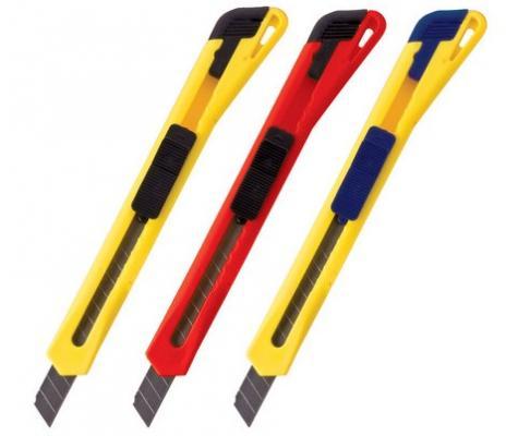 Канцелярский нож BRAUBERG универсальный 9 мм нож канцелярский brauberg 18 мм желтый зеленый красный