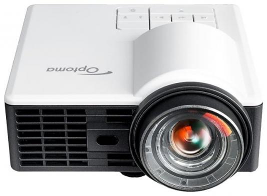Фото - Проектор Optoma ML1050ST+ 1280x800 1000 люмен 20000:1 белый черный (E1P2A2F6E1Z1) проектор optoma x343e 1024x768 3800 люмен 20000 1 черный