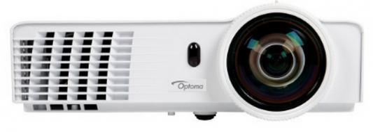 Проектор Optoma W303ST (DLP, WXGA 1280x800, 3000Lm, 18000:1, HDMI, LAN, 1x2W speaker, 3D Ready, lamp 6000hrs) проектор optoma w345 dlp 3d 1280х800 3300 ansi lm