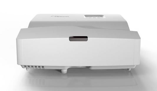 Проектор Optoma W330UST (DLP, WXGA 1280x800, 3600Lm, 20000:1, 2xHDMI, MHL, USB, LAN, 1x16W speaker, 3D Ready) проектор optoma ml330 1280x800 500 люмен 20000 1 золотистый e1p2v004e021