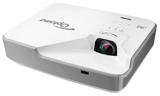 Проектор Optoma ZX310STe (DLP, Laser, XGA 1024x768, 3500Lm, 100000:1, 2xHDMI, LAN, 1x10W speaker, 3D Ready, laser diode проектор optoma w345 dlp 3d 1280х800 3300 ansi lm