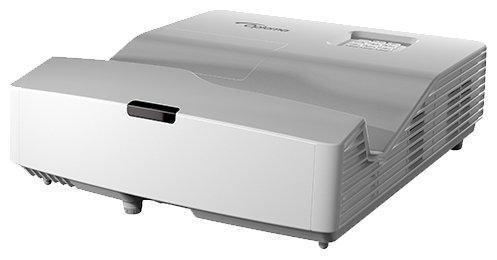 лучшая цена Проектор Optoma EH330UST (DLP, 1080p 1920x1080, 3600Lm, 20000:1, 2xHDMI, MHL, USB, LAN, 1x16W speaker, 3D Ready)
