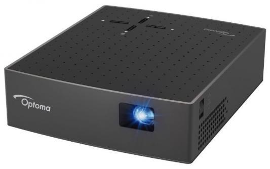 Проектор Optoma LV130 854х480 300 люмен 100000:1 черный (E1P2A2GBE1Z1) проектор optoma ml330 1280x800 500 люмен 20000 1 золотистый e1p2v004e021