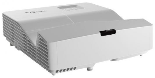 лучшая цена Проектор Optoma HD31UST (DLP, 1080p 1920x1080, 3400Lm, 28000:1, 2xHDMI, MHL, USB, LAN, 1x16W speaker, 3D Ready, lamp 150
