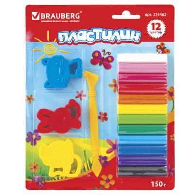 Фото - Набор пластилина BRAUBERG классический 12 цветов набор пластилина brauberg классический 10 цветов 103349