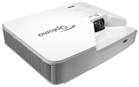 Проектор Optoma ZW310STe 1280x800 3600 люмен 100000:1 белый (E1P1A1TWE1Z1) проектор optoma ml330 1280x800 500 люмен 20000 1 золотистый e1p2v004e021