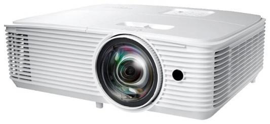 лучшая цена Проектор Optoma X318STe (DLP, XGA 1024x768, 3700Lm, 22000:1, 2xHDMI, MHL, LAN, 1x10W speaker, 3D Ready, lamp 15000hrs)