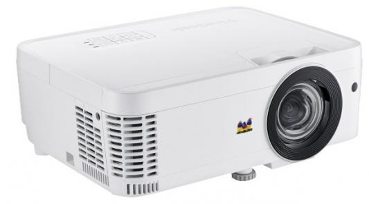 Проектор ViewSonic PS600X (DLP, XGA 1024x768, 3500Lm, 22000:1, 2xHDMI, LAN, 1x10W speaker, 3D Ready, lamp 15000hrs) replacement projector bare lamp rlc 027 hs150kw09 2e bulb for viewsonic pj358 prpjectors with 180days warranty