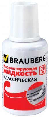 Картинка для Корректирующая жидкость BRAUBERG 220255 20 мл