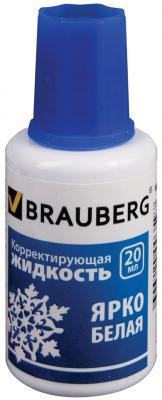 Картинка для Корректирующая жидкость BRAUBERG 221013 20 мл