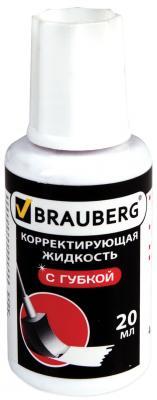 Картинка для Корректирующая жидкость BRAUBERG Premium 20 мл