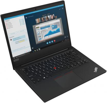 Ноутбук Lenovo ThinkPad E490 14 1920x1080 Intel Core i5-8265U 1 Tb 8Gb Bluetooth 5.0 Intel UHD Graphics 620 черный DOS 20N80017RT ноутбук lenovo thinkpad e580 20ks006hrt intel core i5 8250u 1 6 ghz 8192mb 1000gb intel hd graphics wi fi bluetooth cam 15 6 1920x1080 dos