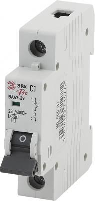 Автомат ЭРА Pro NO-900-08 ва47-29 1p 6а кривая c (12/180/3780) автомат иэк ва47 29 2п 6а 2 полюсной
