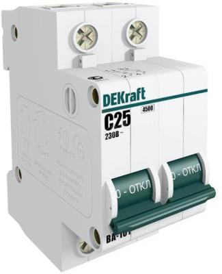 Выключатель DEKRAFT 11070DEK авт. мод. 2п c 40а ВА-101 4.5ка