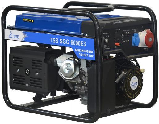 Бензогенератор ТСС SGG 6000 E3 КВТ 6/ КВА 7.5/ 25 л. НА 75% БЕЗ ДОЗАПРАВ (ч): 8. цена