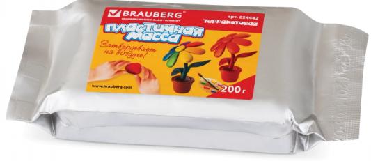 Фото - Масса для лепки BRAUBERG отвердевающая 1 цвет масса для лепки jovi отвердевающая 1 цвет