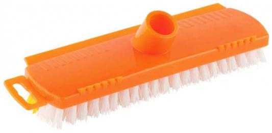 Щётка DEXX 39124 для пола пластиковая с короткой жесткой щетиной щётка dexx 39124