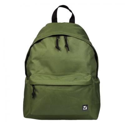 Рюкзак BRAUBERG, универсальный, сити-формат, один тон, зеленый, 20 литров, 41х32х14 см, 225382 рюкзак brauberg универсальный сити формат один тон черный 20 литров 41х32х14 см 225381