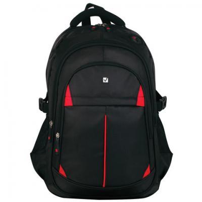 Купить Рюкзак BRAUBERG для старшеклассников/студентов/молодежи, Кардинал , 35 литров, 45х28х18 см, 226376, черный, полиэстер, Рюкзаки