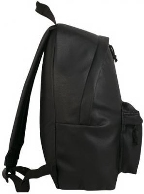 """Рюкзак BRAUBERG универсальный, сити-формат, черный, кожзам, """"Селебрити"""", 20 литров, 41х32х14 см, 226423"""