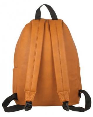 """Рюкзак BRAUBERG универсальный, сити-формат, коричневый, кожзам, """"Селебрити"""", 20 литров, 41х32х14 см, 226424"""