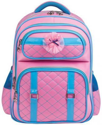 Купить Рюкзак BRAUBERG для учениц начальной школы, стеганый , Зефир , с бантиком, 14 литров, 40х29х17, 5 см, 226361, розовый, н/д, Ранцы, рюкзаки и сумки