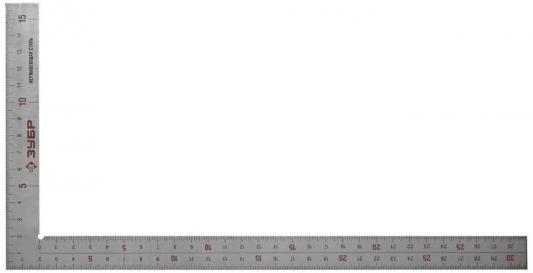 Угольник Зубр Эксперт 34350-30 30 см нержавеющая сталь столярный цена