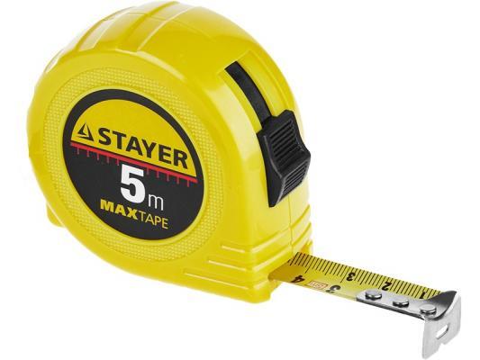 Рулетка Stayer 34014-10-25 10мx25мм рулетка курс мастер 10мx25мм 17148