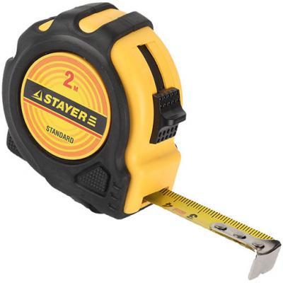 Рулетка Stayer TopTape 34025-02 2мx16мм рулетка stayer 34025 02 standard toptape