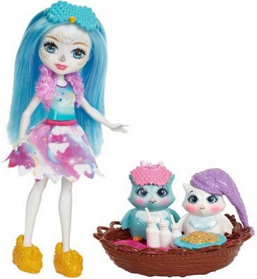 Купить Игрушка MATTEL Enchantimals Кукла со зверушкой и тематическим набором в асс, для девочки, Прочие игровые наборы