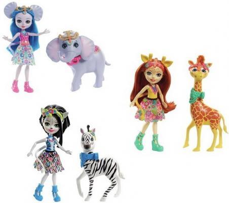 Купить Игрушка Enchantimals Куклы с большими зверюшками в ассорт., MATTEL, для девочки, Прочие игровые наборы