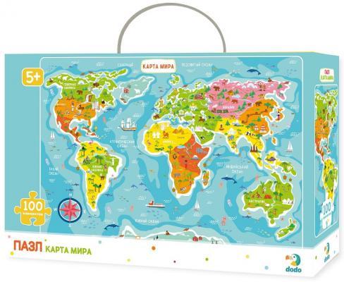 Купить Пазл DODO R100110 Карта мира, Пазлы для малышей