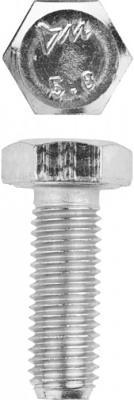 Болт ГОСТ 7798-70, M12 x 35 мм, 5 кг, кл. пр. 5.8, оцинкованный, ЗУБР световые часы boxpop x lb 510 35