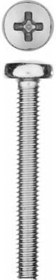 Винт DIN 7985 M4x30мм, 10шт, кл. пр. 4.8, оцинкованный, ЗУБР