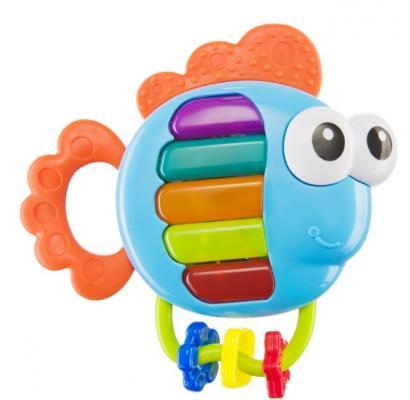 Игрушка Happy Baby PIANO FISH с прорезывателем музыкальная