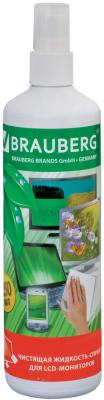 Спрей-очиститель BRAUBERG 510120 250 мл