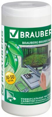 Фото - Чистящие салфетки BRAUBERG 510121 100 шт defender cln30100 салфетки чистящие 110 шт