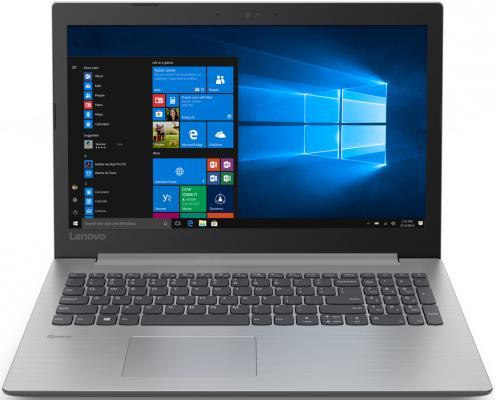 Ноутбук Lenovo IdeaPad 330-17IKB i3-7020U (2.3)/8G/1T+256G SSD/17.3''HD+ AG/Int:Intel HD/noODD/BT/DOS (81DM00D7RU) Grey