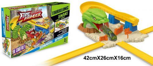 Купить Автотрек, в/к 50*7, 8* 29 см, best toys, Пластик, Для мальчиков, Гаражи, парковки, треки