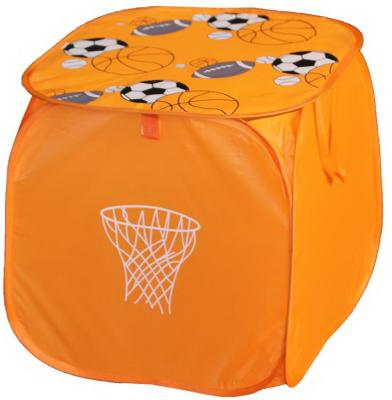 Корзина для игрушек Футбол, 45*45 см корзина для игрушек bondibon футбол вв3252