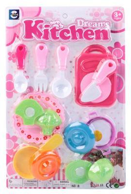 Набор посуды и продуктов Best toys Кухонная посуда пластик