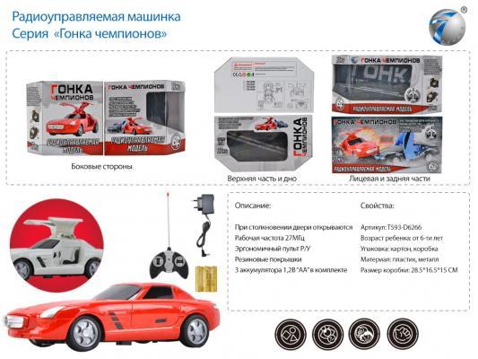 """Машинка на радиоуправлении best toys """",Гонка Чемпионов"""", пластик, металл от 6 лет красный"""
